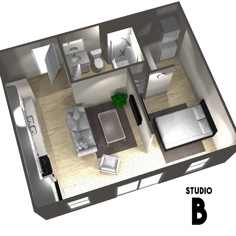 Studio B Floor Plan | Arabella