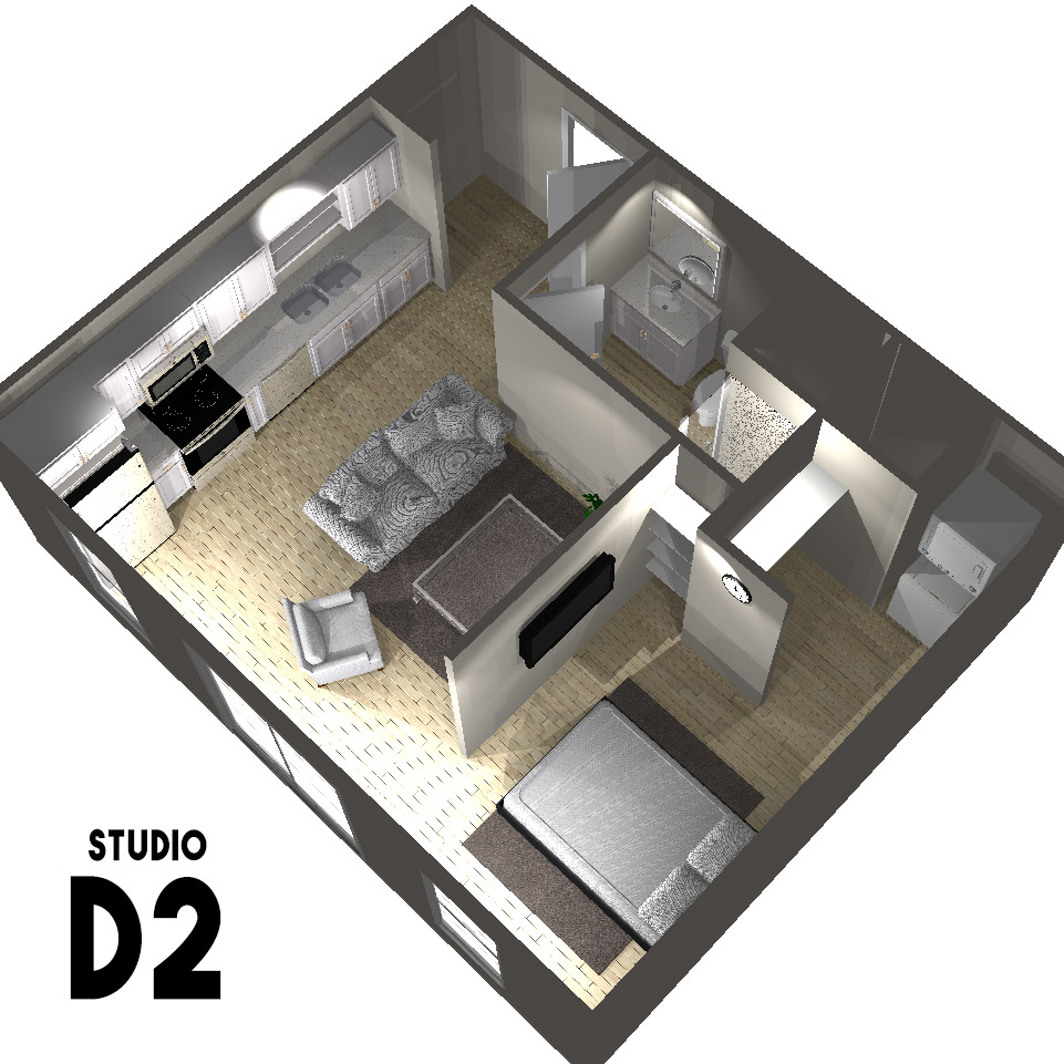 Studio D2 Floor Plan | Arabella